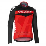Men's Specialized RBX Sport Cycling Jersey Long Sleeve Bib Tight 2016 Black Red(1)