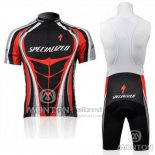 Men's Specialized RBX Comp Cycling Jersey Bib Short 2010 Black Red