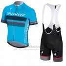 Men's Specialized RBX Comp Cycling Jersey Bib Short 2018 Blue