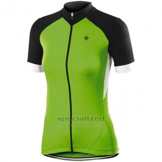 Womens Specialized RBX Sport Cycling Jersey Bib Short 2016 Black Green