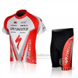 Men's Specialized RBX Comp Cycling Jersey Bib Short 2010 Red White