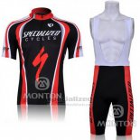 Men's Specialized RBX Comp Cycling Jersey Bib Short 2011 Black Red
