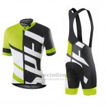 Men's Specialized RBX Comp Cycling Jersey Bib Short 2016 Black White Green