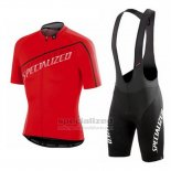 Men's Specialized SL Expert Cycling Jersey Bib Short 2015 Red