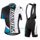 Men's Specialized RBX Sport Cycling Jersey Bib Short 2016 White Black Blue