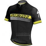 Mens Specialized SL Expert Cycling Jersey Bib Short 2017 Black Yellow