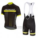 Men's Specialized RBX Comp Cycling Jersey Bib Short 2018 Black Yellow