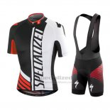 Men's Specialized RBX Sport Cycling Jersey Bib Short 2016 Black White Red