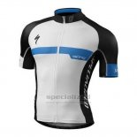 Men's Specialized SL Expert Cycling Jersey Bib Short 2016 White Black Blue