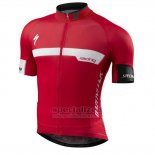 Men's Specialized SL Expert Cycling Jersey Bib Short 2015 Red White