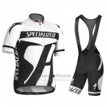 Men's Specialized RBX Sport Cycling Jersey Bib Short 2016 White Black