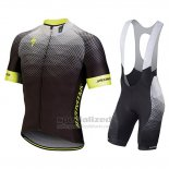 Men's Specialized SL Pro Cycling Jersey Bib Short 2018 Black Yellow