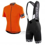 Men's Specialized RBX Pro Cycling Jersey Bib Short 2016 Orange