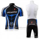 Men's Specialized RBX Comp Cycling Jersey Bib Short 2010 Black Blue