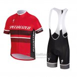 Kid's Specialized RBX Comp Cycling Jersey Bib Short 2018 Red Black