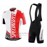 Men's Specialized RBX Sport Cycling Jersey Bib Short 2015 Red White