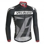 Men's Specialized RBX Sport Cycling Jersey Long Sleeve Bib Tight 2016 Black Grey Black