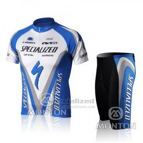 9c4d35697 Men s Specialized RBX Comp Cycling Jersey Bib Short 2010 Blue White.  Loading zoom