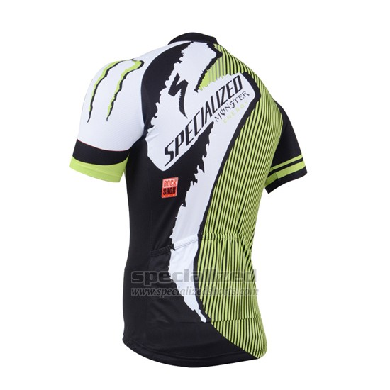 Men's Specialized RBX Comp Cycling Jersey Bib Short 2014 Black Green