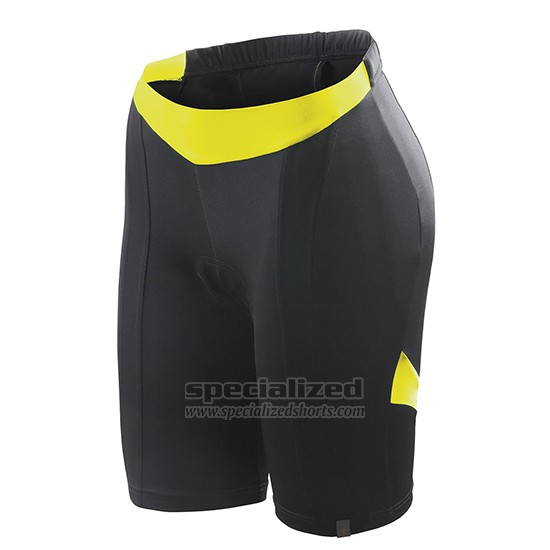 Women's Specialized RBX Sport Cycling Jersey Bib Short 2018 Grey Yellow